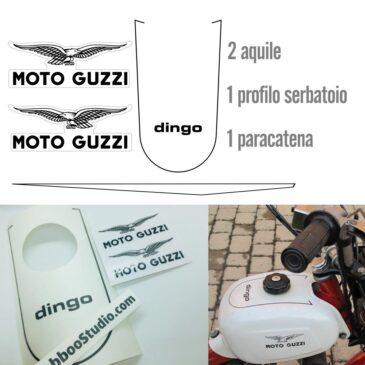 Kit completo restauro Moto Guzzi Dingo 3 marce