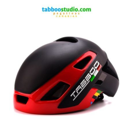 Adesivi Nome e bandiera casco bici
