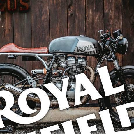 Adesivi serbatoio Royal Enfield Cafe Racer