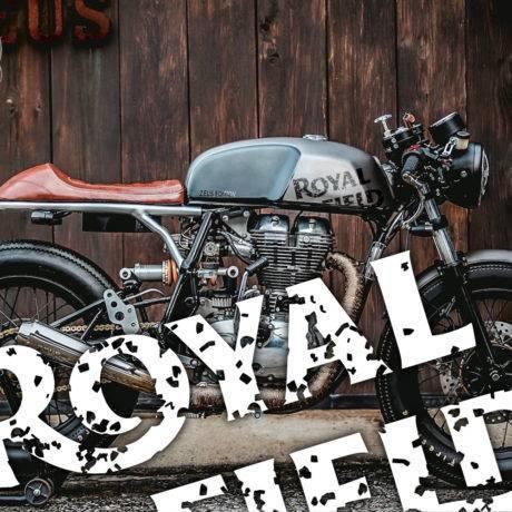 Adesivi serbatoio Royal Enfield Cafe Racer Used