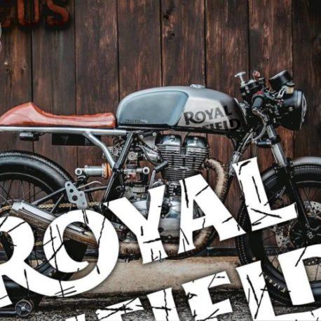 Adesivi serbatoio Royal Enfield Cafe Racer Scratchy