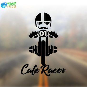 Cafe racer biker stickers Bicilindrico Boxer BMW 2V