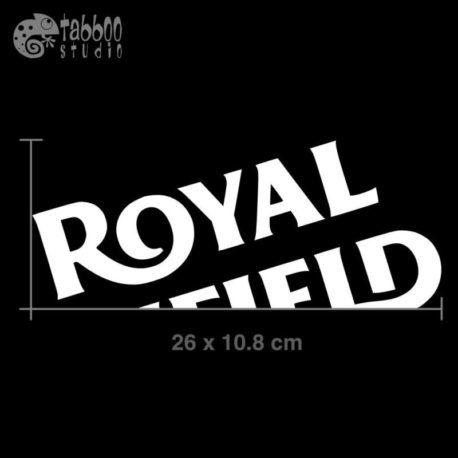 Adesivi serbatoio Royal Enfield Cafe Racer Misure