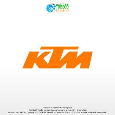 Adesivo logo KTM