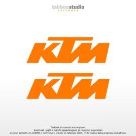 Adesivi logo KTM sticker