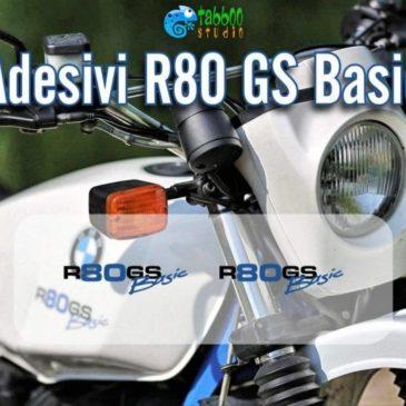 Adesivi serbatoio moto BMW R80 G/S Basic