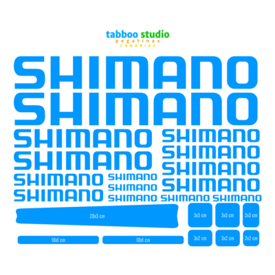 Shimano Stickers