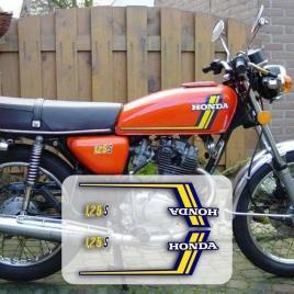 Honda CB 125 S Stickers