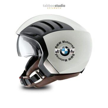 2 adesivi BMW per casco