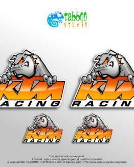 KTM Racing Stickers