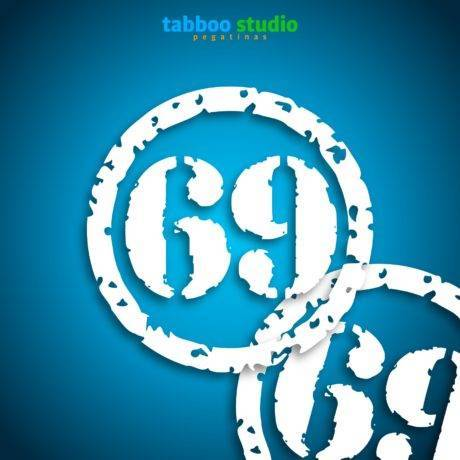Sticker numbers for Cafe Racer Scrambler Bobber bikes