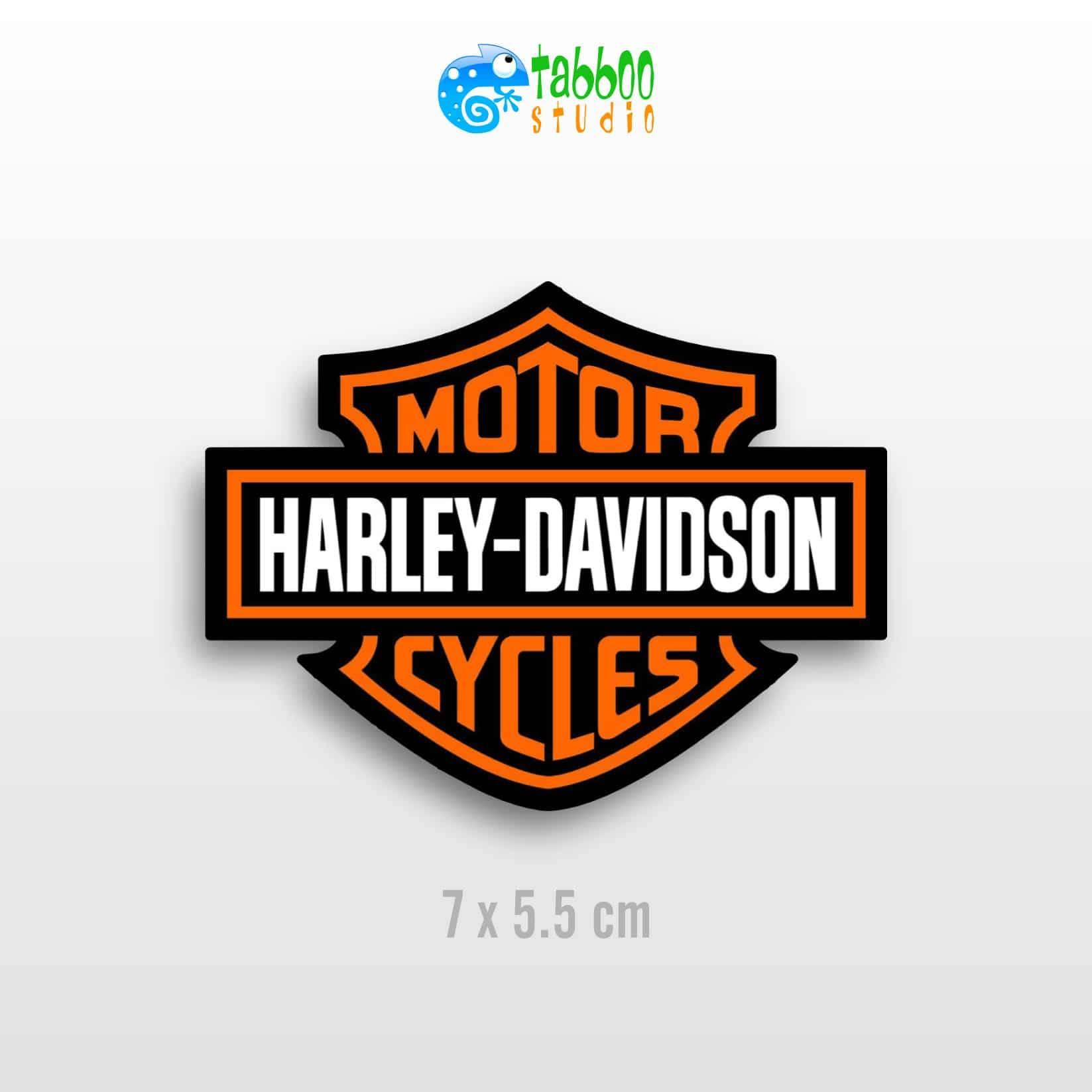Harley davidson stickers logo replica moto custom casco helmet