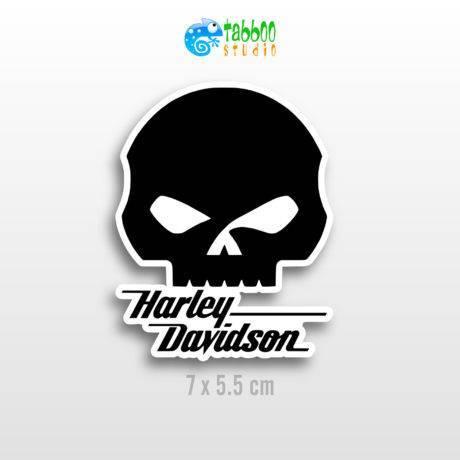 HARLEY-DAVIDSON stickers logo replica moto custom casco helmet