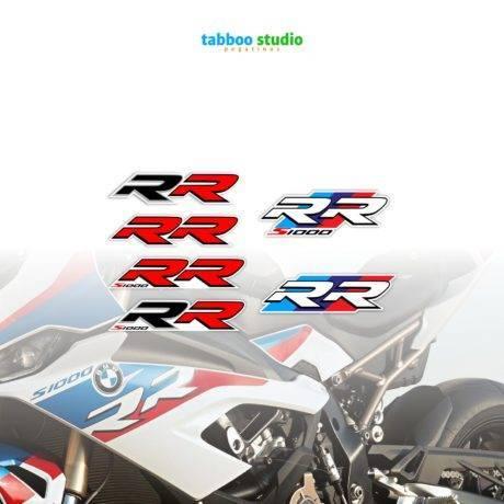 BMW S1000 RR helmet stickers