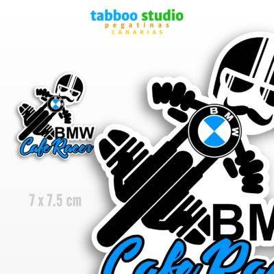 Cafe Racer BMW Biker Stickers