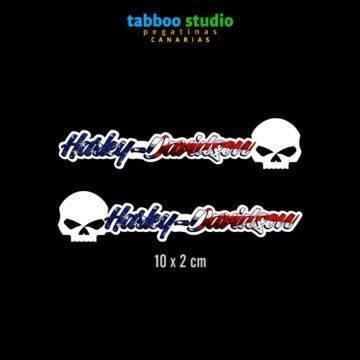 HARLEY-DAVIDSON helmet stickers_america1_1
