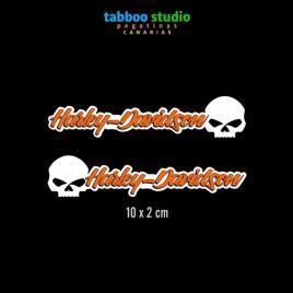 HARLEY-DAVIDSON helmet stickers