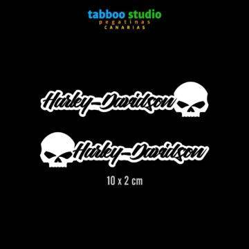 HARLEY-DAVIDSON helmet stickers_nero_1