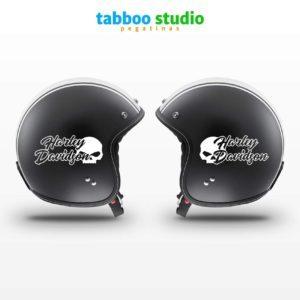 HARLEY DAVIDSON motorcycle tank helmet stickers