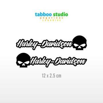 HARLEY-DAVIDSON Helmaufkleber