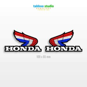 Honda wings stickers