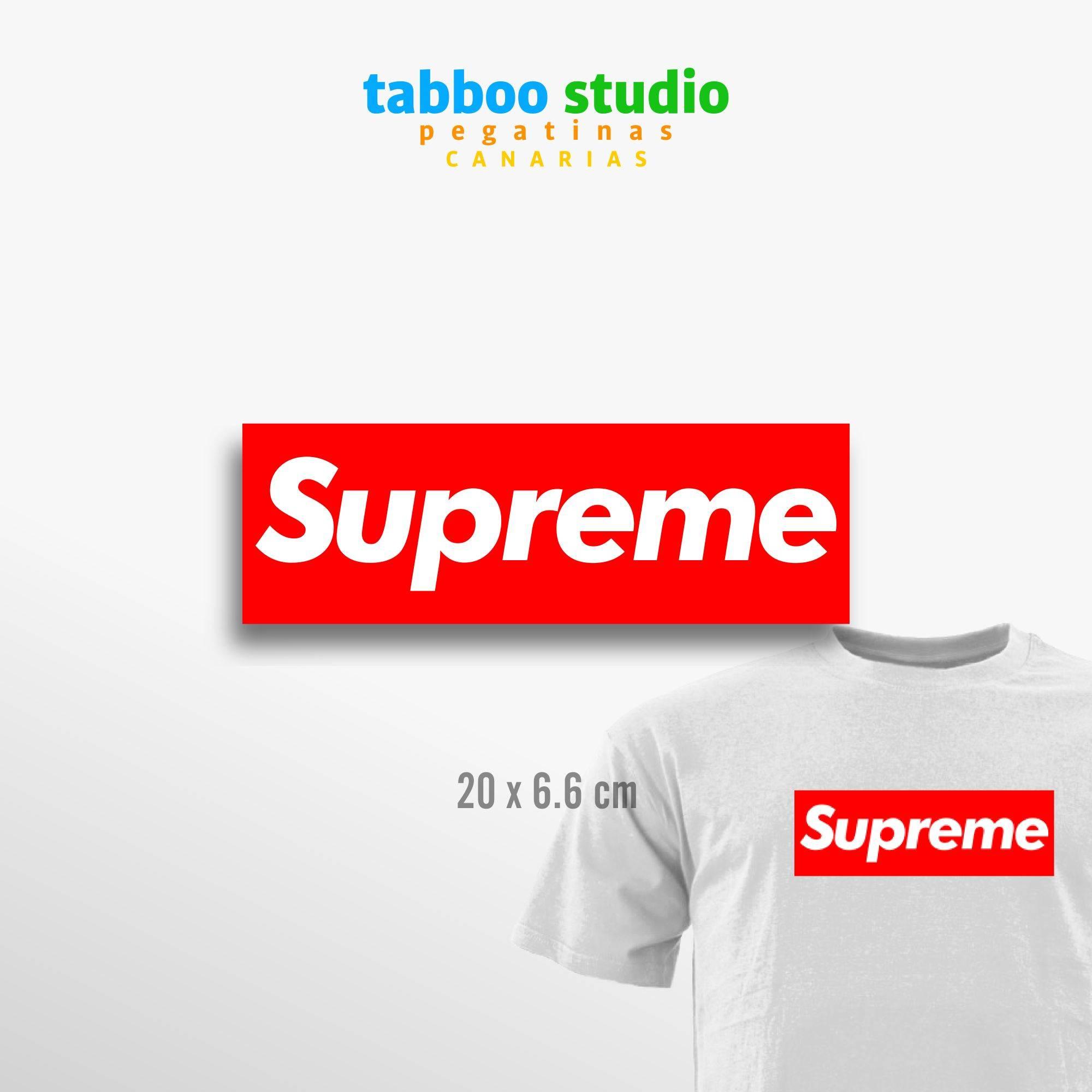 Supreme Iron-on Transfer Sticker - Tabboo Studio