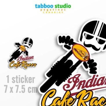 Indian Cafe Racer biker