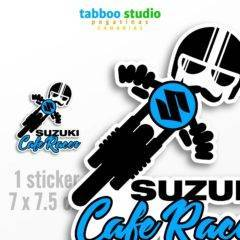 Suzuki Cafe Racer biker