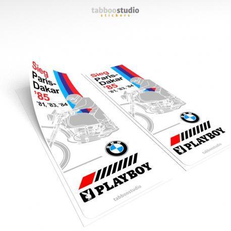 BMW Paris Dakar 1985 Stickers