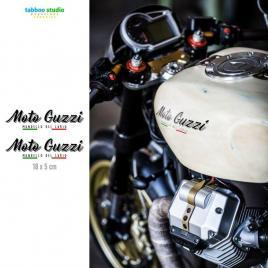 Moto Guzzi tank stickers kit