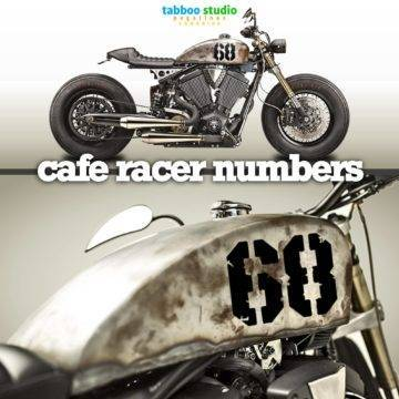 Cafe racers numbers