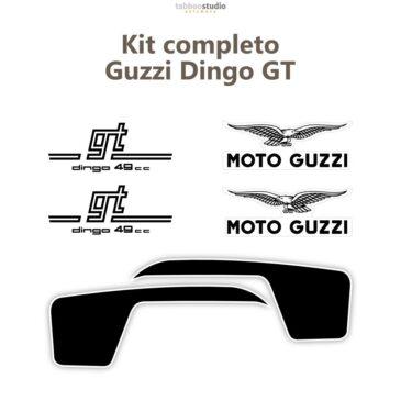 Adesivi Moto Guzzi Dingo GT