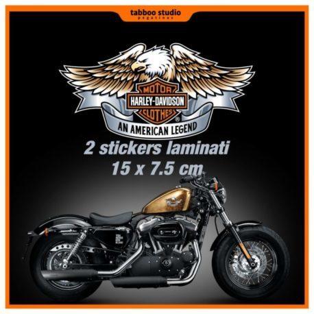 Adesivi serbatoio Harley Davidson