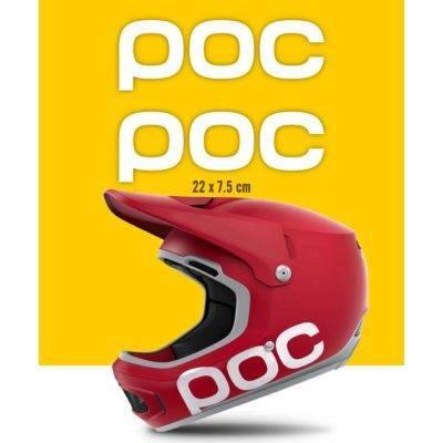 Adesivi casco POC