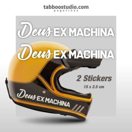 Adesivi casco Deus Ex Machina