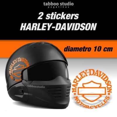 Adesivi logo Harley Davidson Bar and Shiled