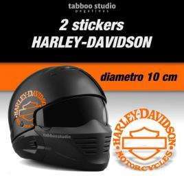 Adesivi logo Harley Davidson Bar and Shiled