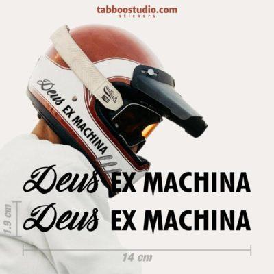 Adesivi Deus Ex Machina