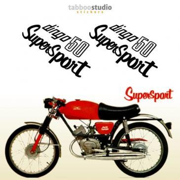 Adesivi Moto Guzzi Dingo Supersport