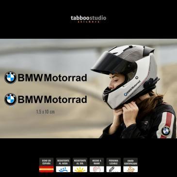 2 stickers BMW Motorrad