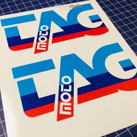 2 stickers adesivi TAG