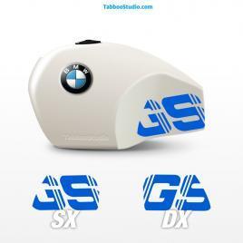 Adesivi BMW R80 GS serbatoio moto