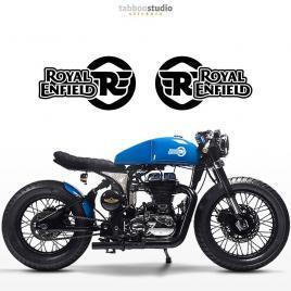 Royal Enfield Cafe Racer adesivi serbatoio