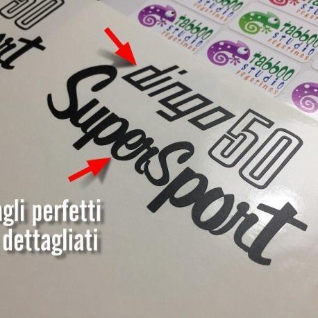 Dingo Supersport tagli