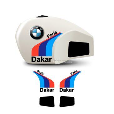 BMW R80 GS Paris Dakar stickers