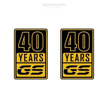 adesivi BMW 40 anni GS