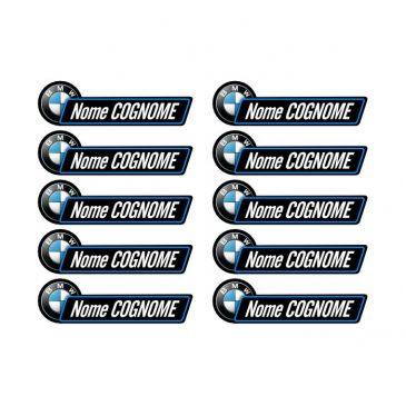adesivi personalizzati bmw